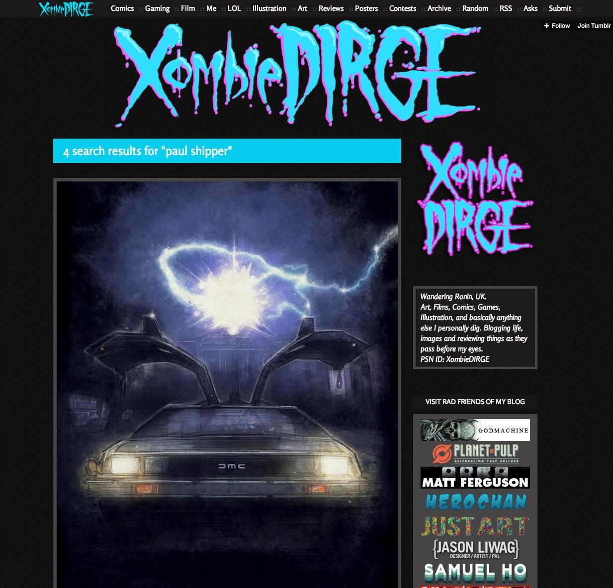Feautured on Xombiedirge