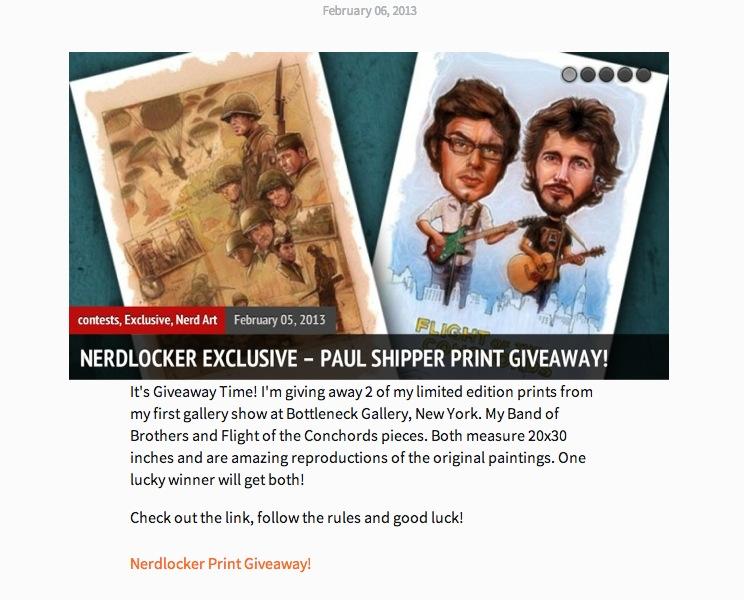 Nerdlocker Print Giveaway!