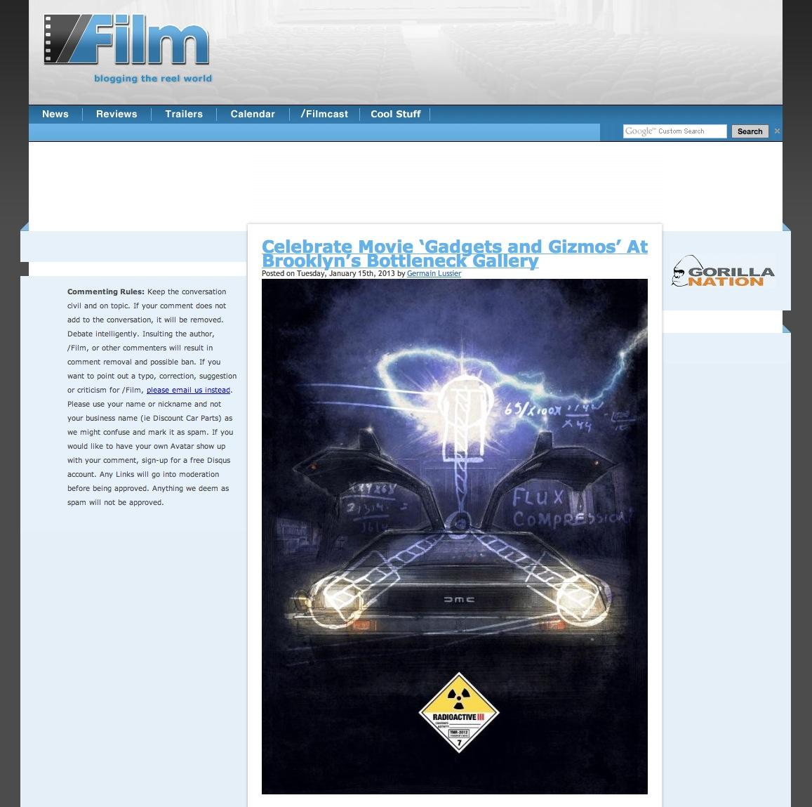Back to the Future - Slash Film