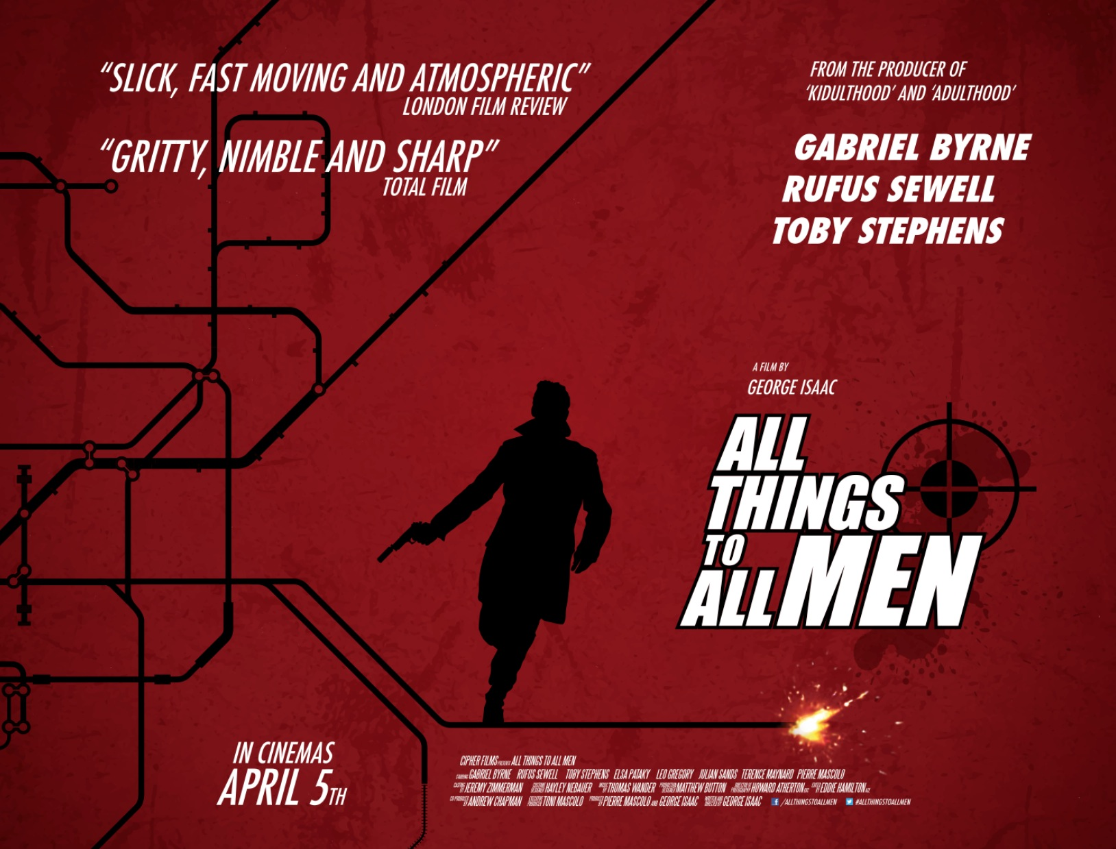 All Things To All Men - British Quad Poster