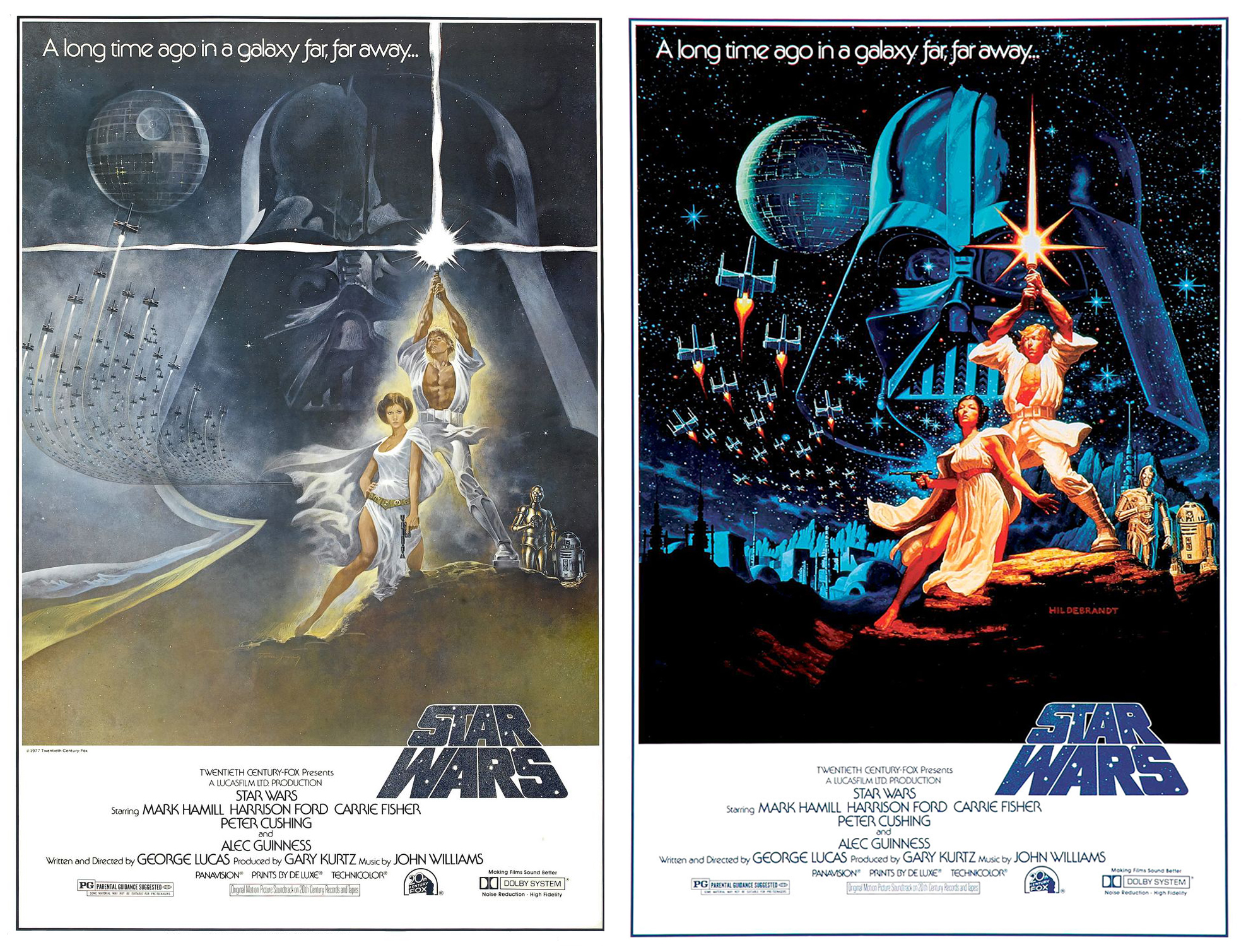 The Original Star Wars Release Posters