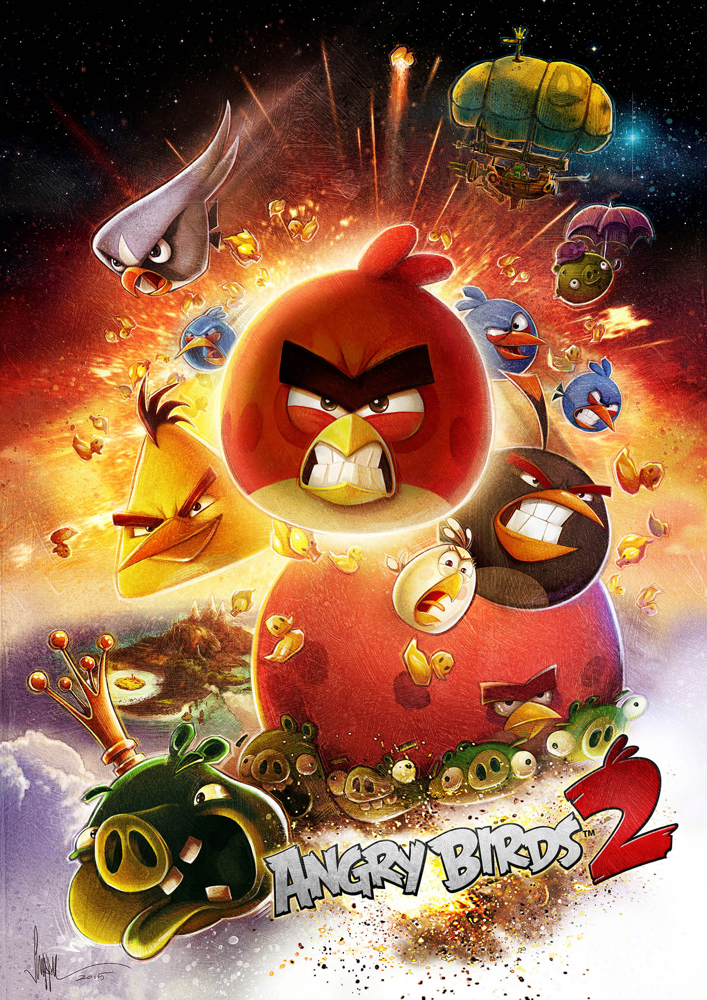 Angry Birds 2 — PAUL SHIPPER STUDIO