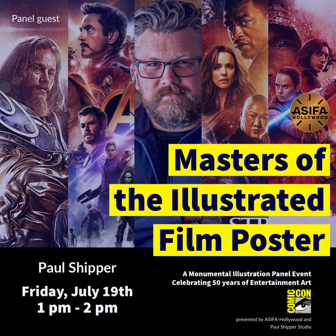 San Diego Comic-Con 2019 Masters of the Illustrated Film
