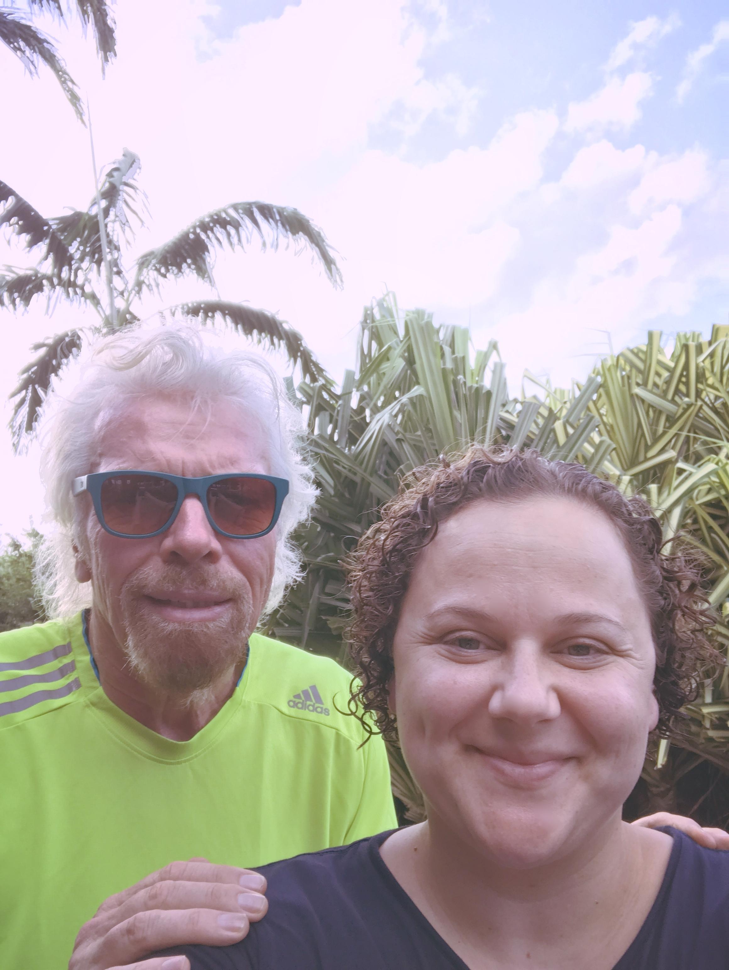 Trista Harris & Richard Branson
