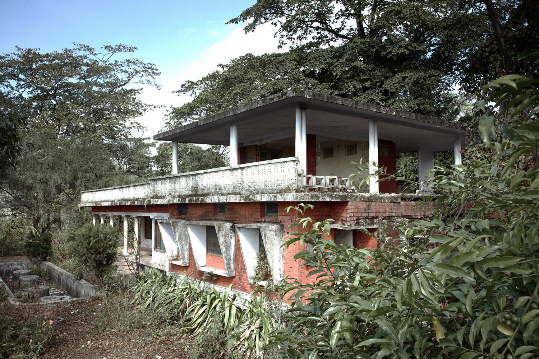 The Beatles Ashram, Rishikesh, India  'Home of the White Album'