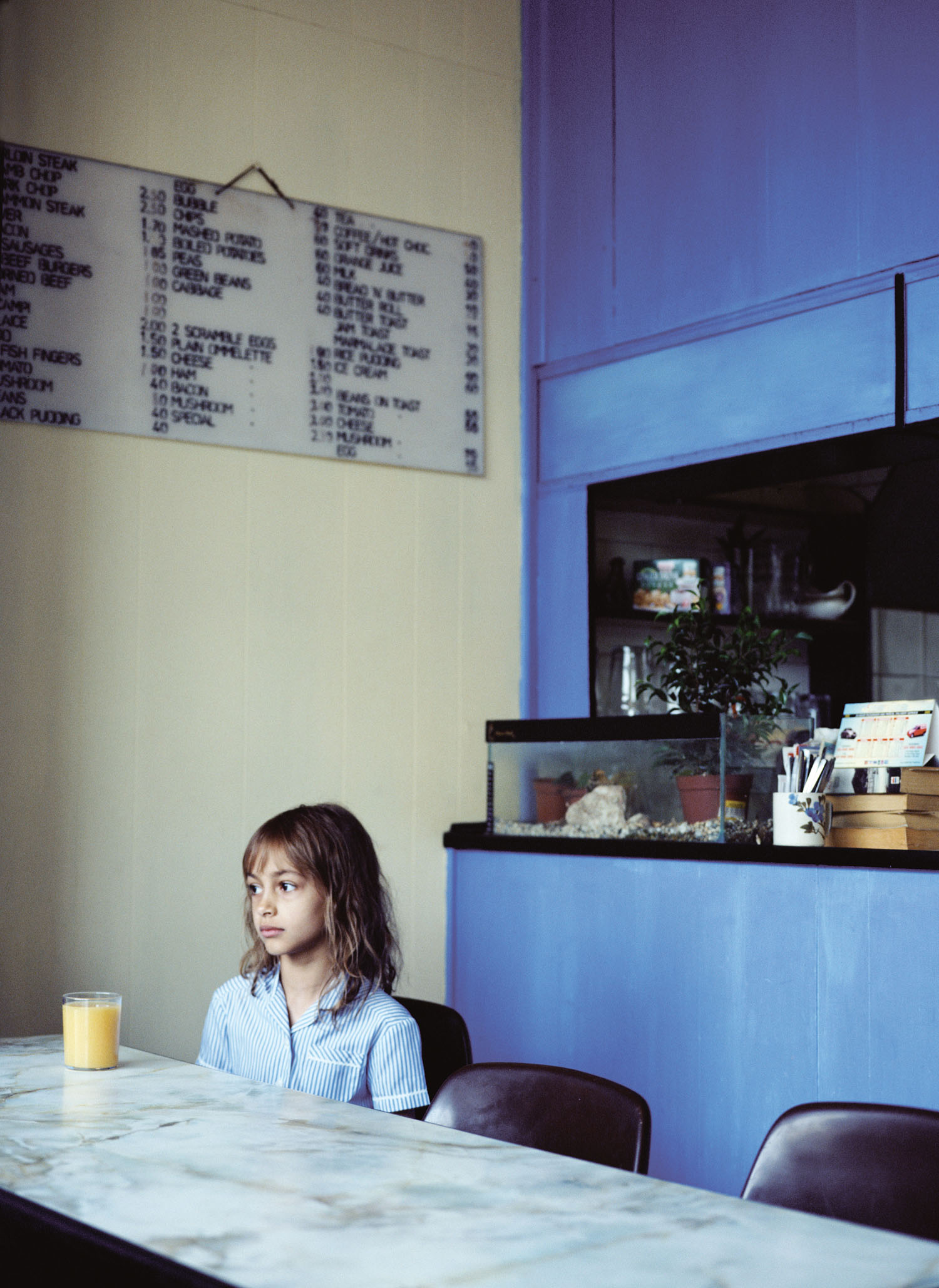 Shivani Waiting for Breakfast  National Portrait Gallery Taylor Wessing &  International Colour Awards  2006