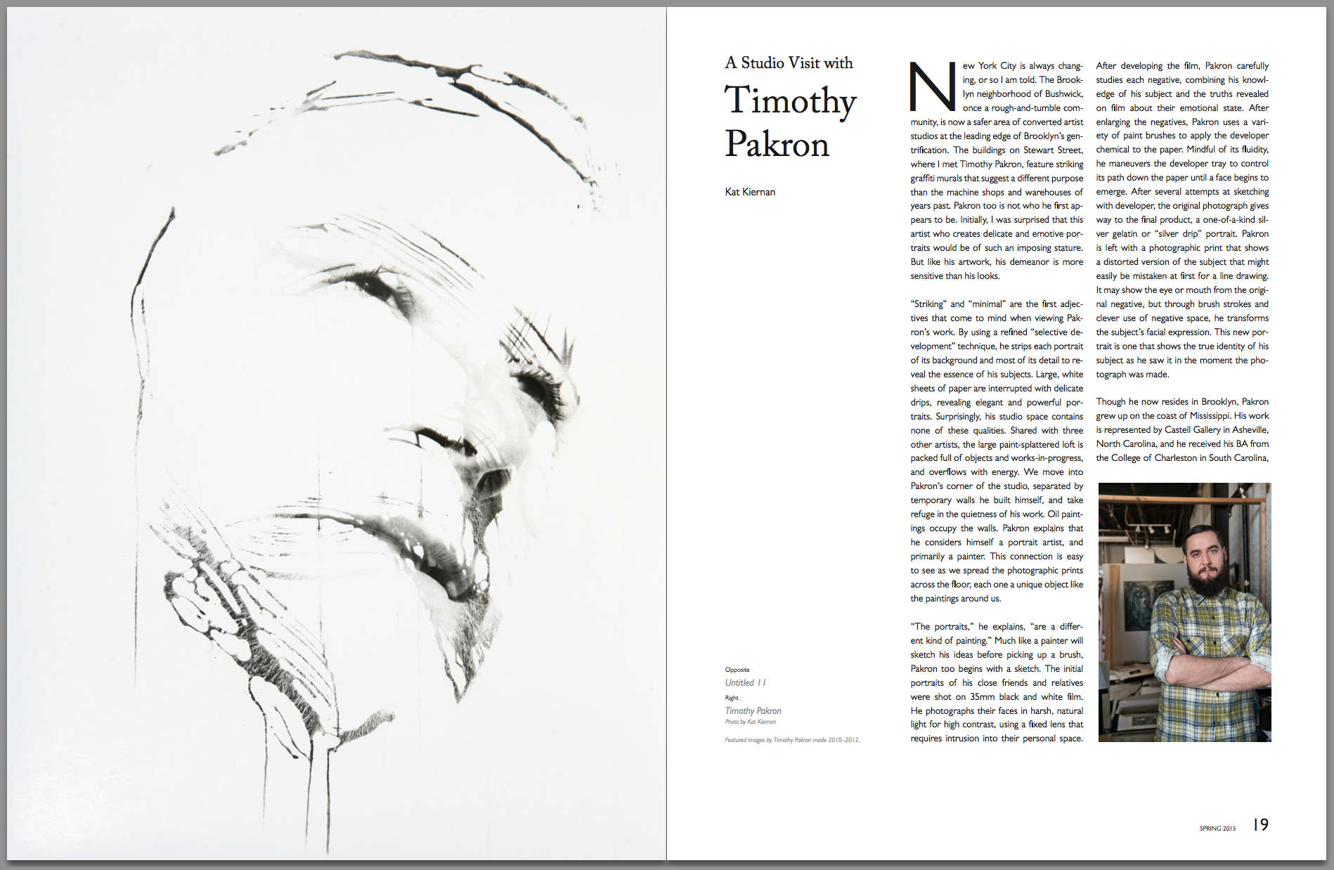 A Studio Visit with Timothy Pakron  Don't Take Pictures, Issue 4 (March 2015)