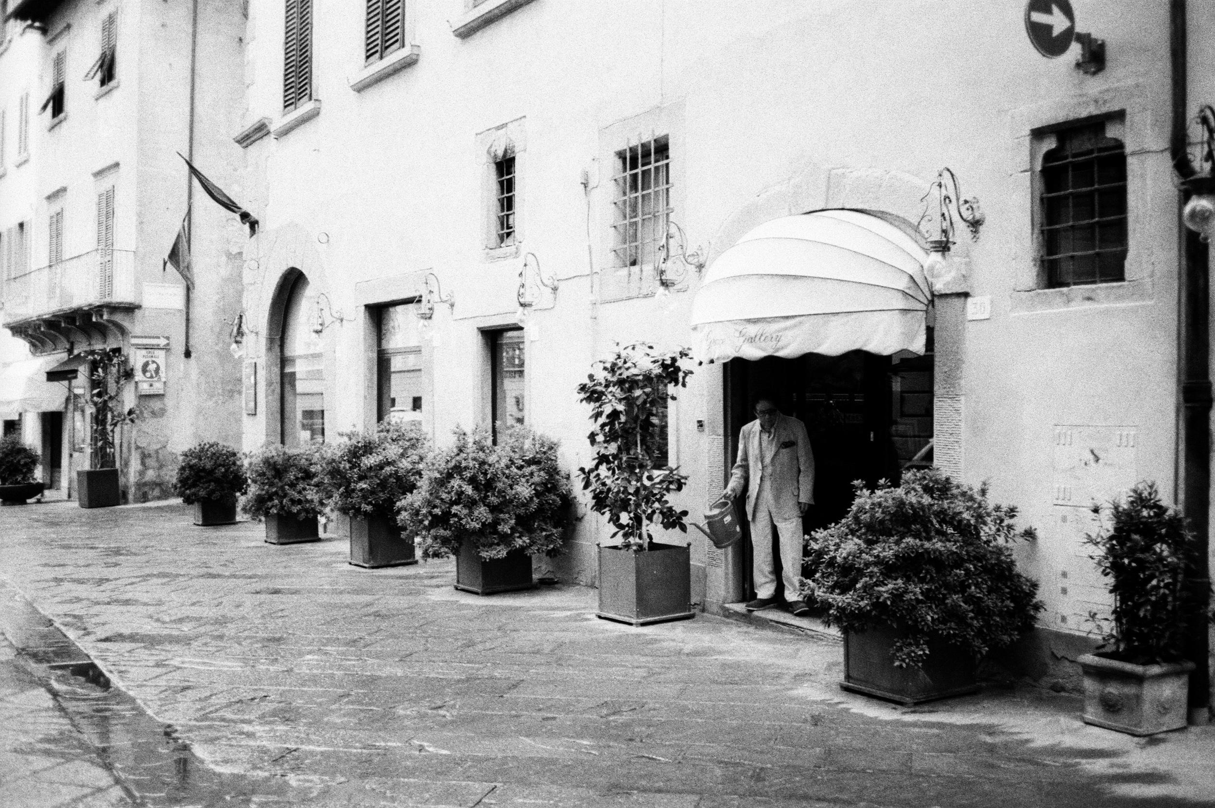 Mann in Arezzo