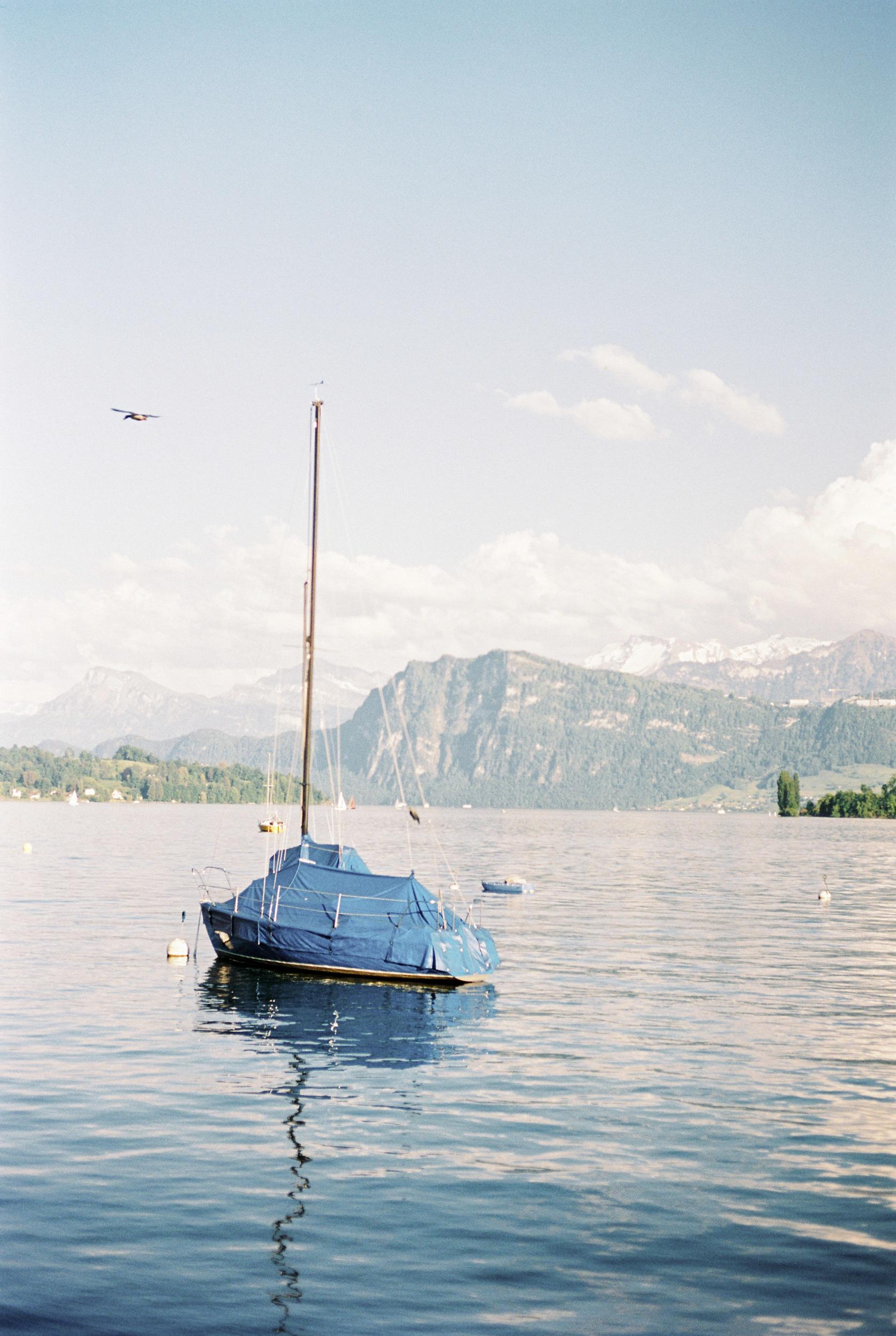 Segelschiff auf dem Vierwaldstättersee