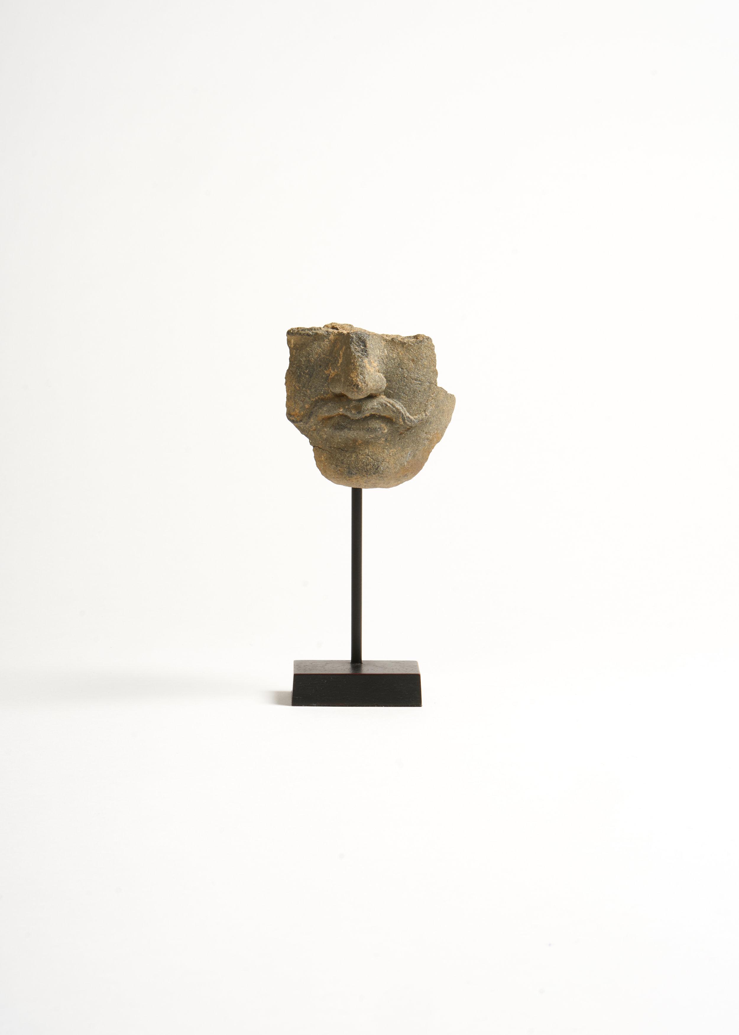 Gandhara Head Fragment