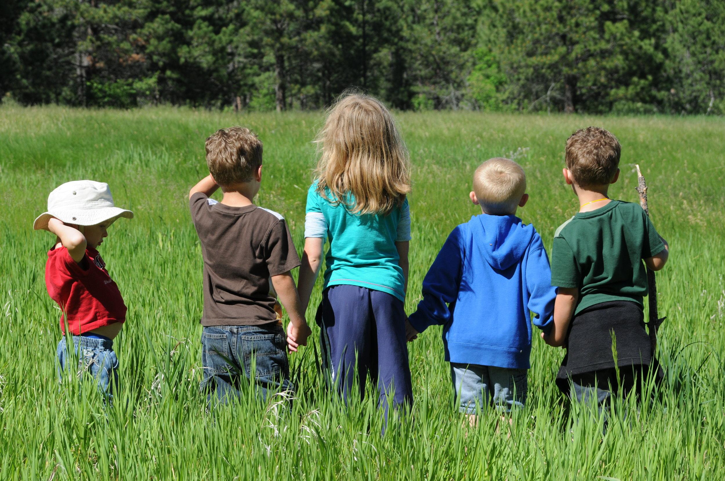 kids in field.JPG