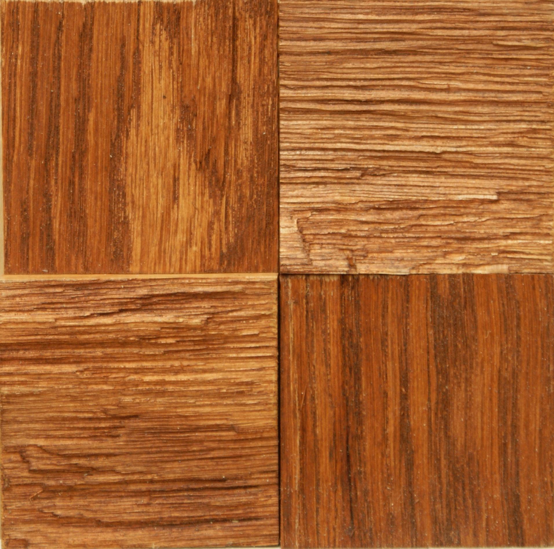 Oak Massive Tiles Island Brown Oil