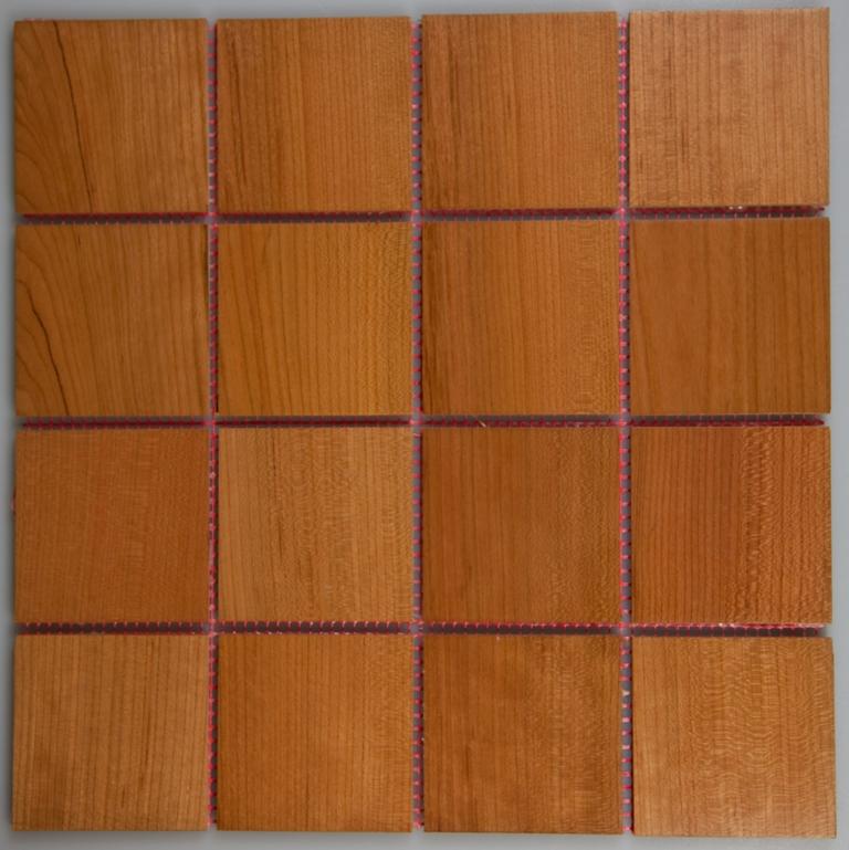 Cherry 70mm x 70mm Wood Tile