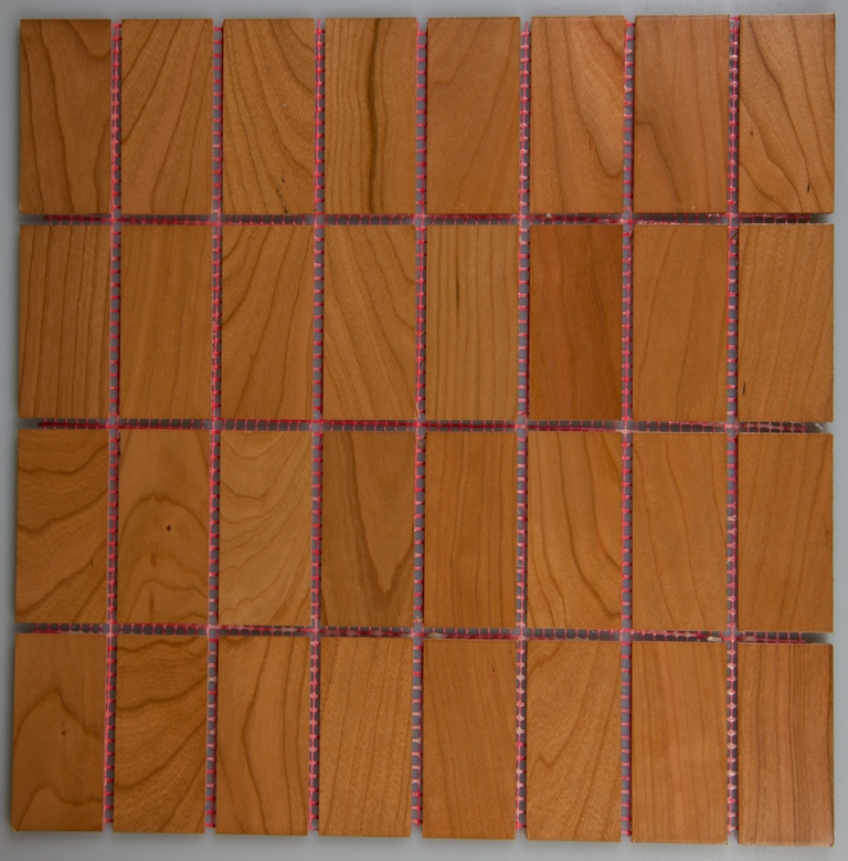 Cherry 33.5mm x 70mm Wood Tile