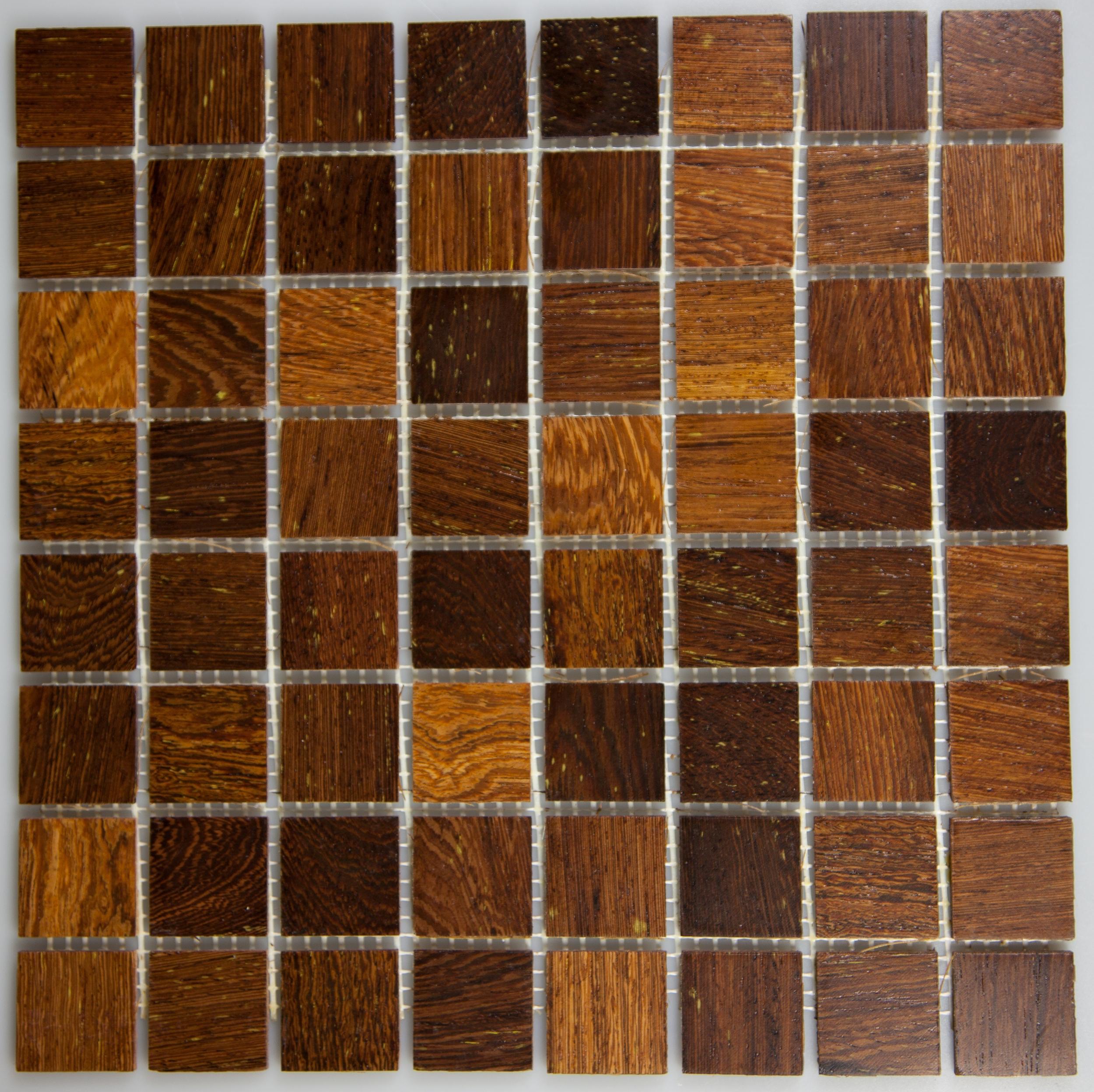 Panga Panga 33.5mm x 33.5mm Wood Tile
