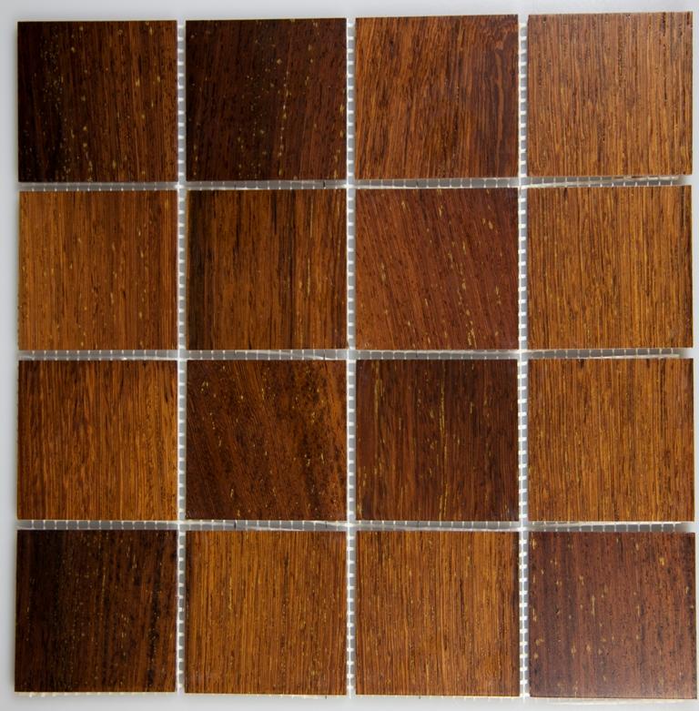 Panga Panga 77mm x 77mm Wood Tile
