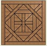 Bordeaux Parquet Panel