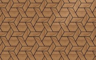 Hexagon Weave Pattern