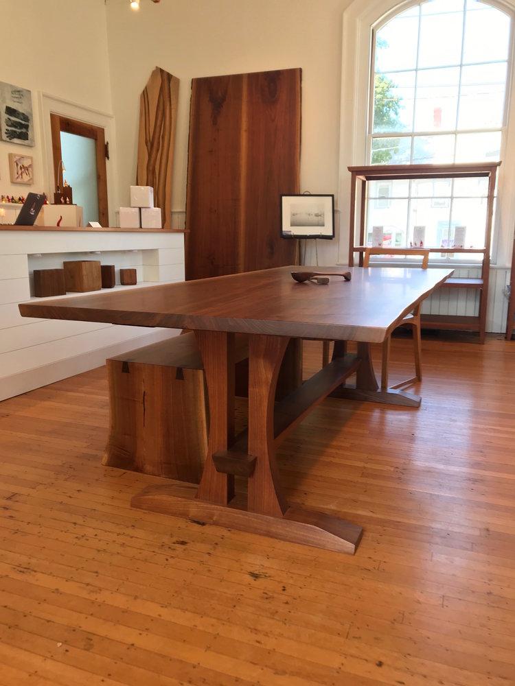 Walnut Dining Room Table — ZuernerDesign