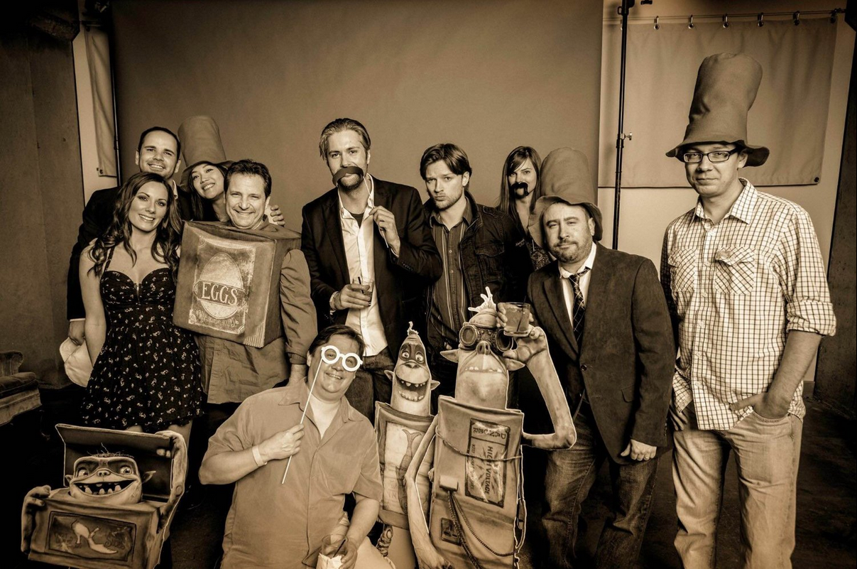The BoxTrolls VFX crew