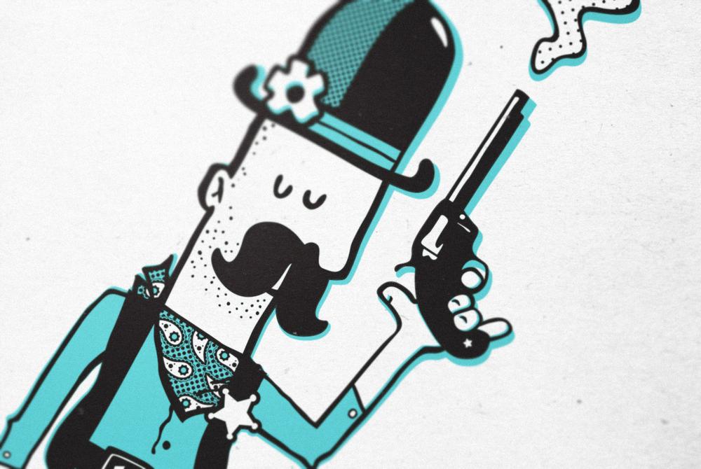 Gunslinger , from my 2013 wall calendar