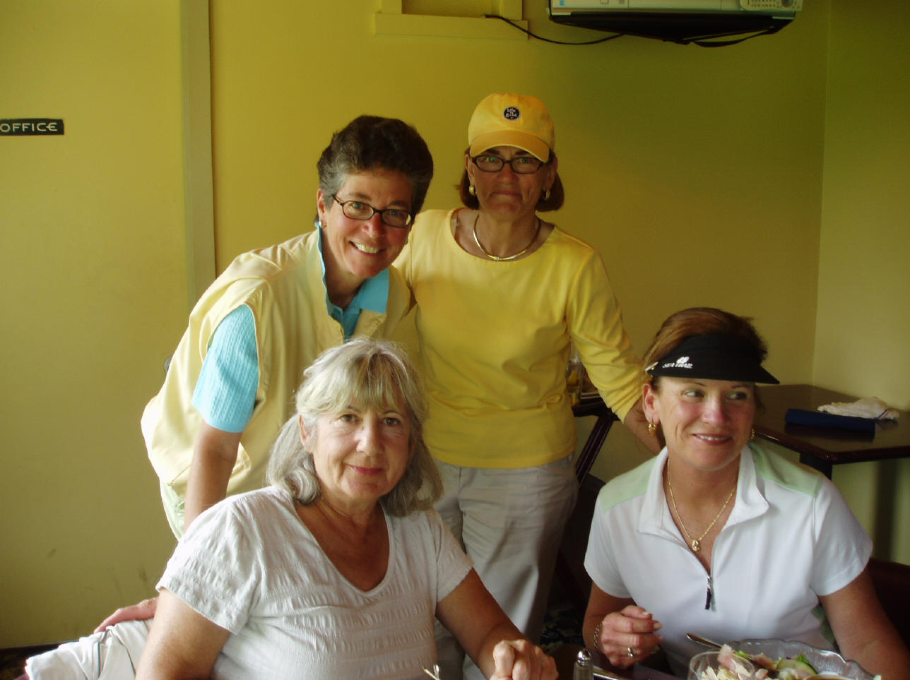 Lynne Cantwell, Linda Canavan, Tina Donnelly, & Malissa Franke