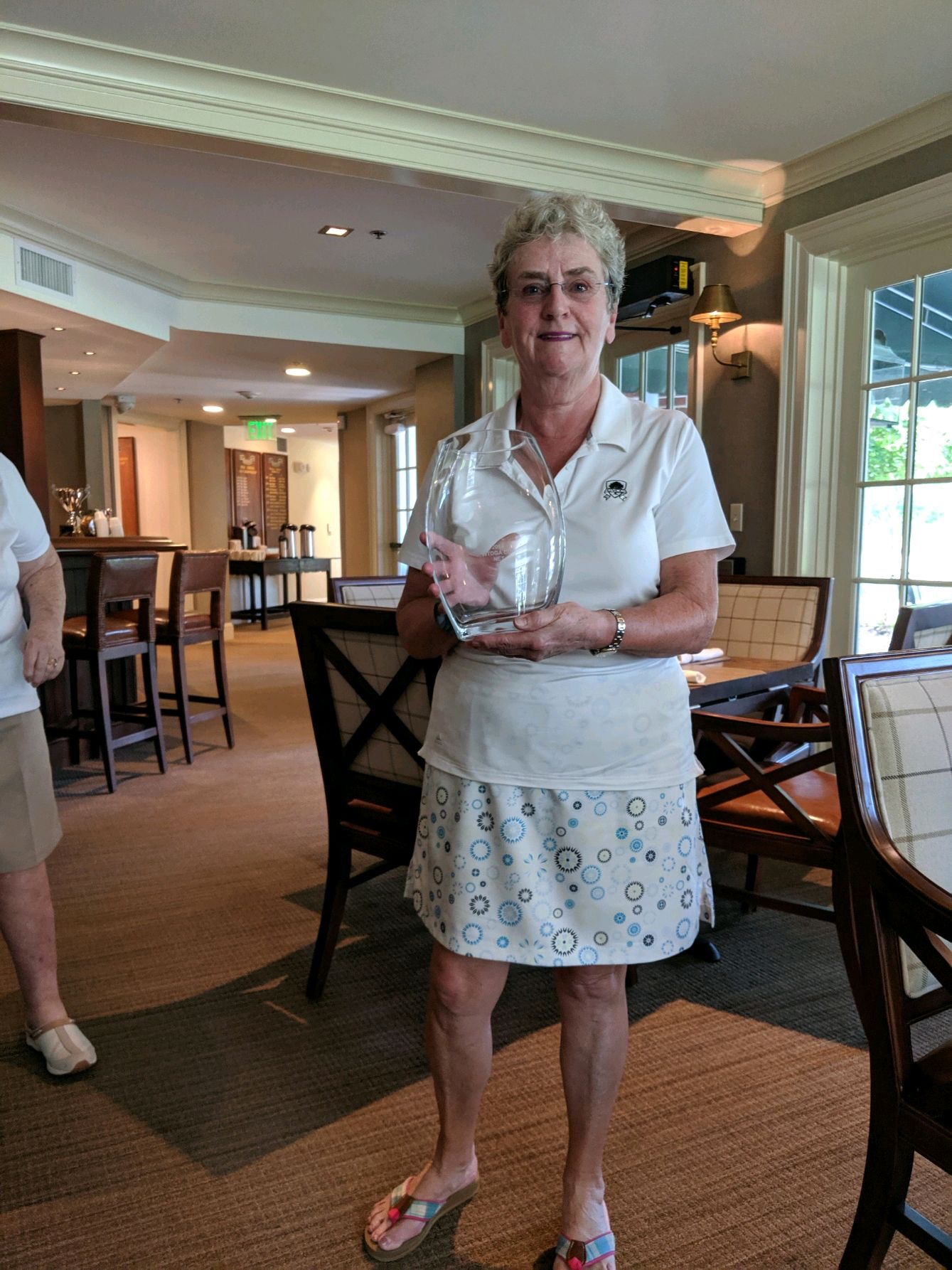 Ann Goodwillie, Cherry Valley, 2019 WTDGA Cup Net Champion