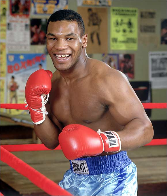 Mike Tyson knows what it's like to cheat on your diet with extra pie...or the occasional human ear.