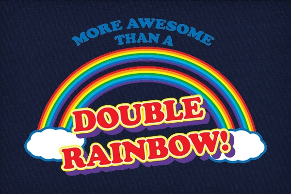 Are TGU's more awesome than double rainbows? While I never thought I'd say it....yes.