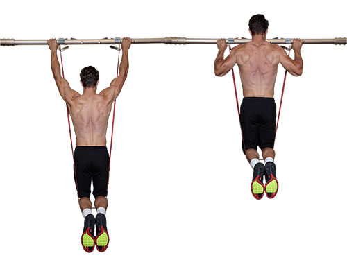 A great progression for those unable to do a pull up. Oh, and nice shoes brah!