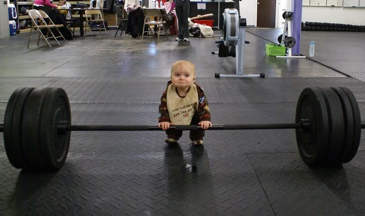 """""""Cute"""" and """"Deadlifting"""" aren't typically synonymous....but in this case, they are!"""