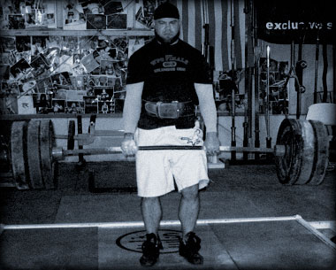 Jim Wendler, doing what he does best - moving heavy things.