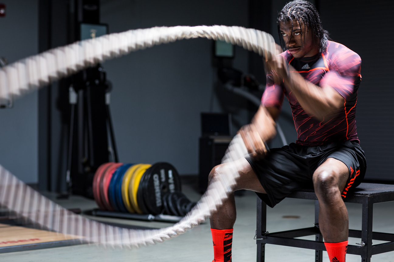 RGIII's workouts look beastly on commercials, but we're not RGIII.