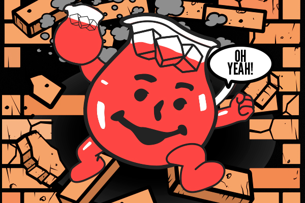 If you're an adult and drinking Kool-Aid, then it's not the fruit that's causing weight gain..