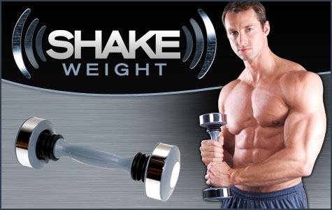 No, the Shake Weight will never count as long, slow cardio..