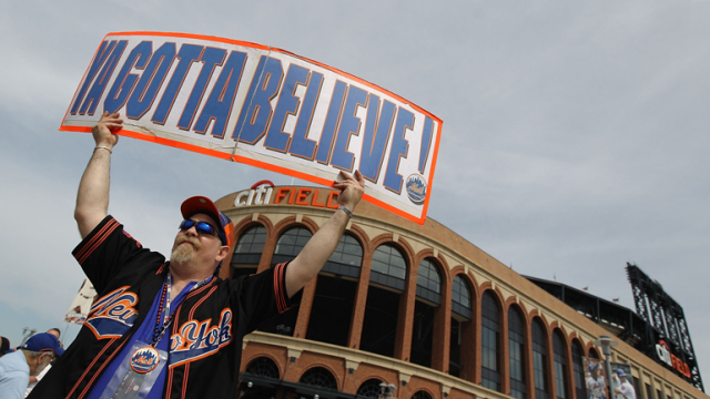 Not a Mets fan. But Tug McGraw was onto something..