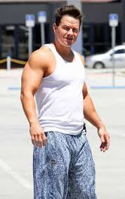 The last thing an extended bro like Marky Mark needs.... is more bench press.