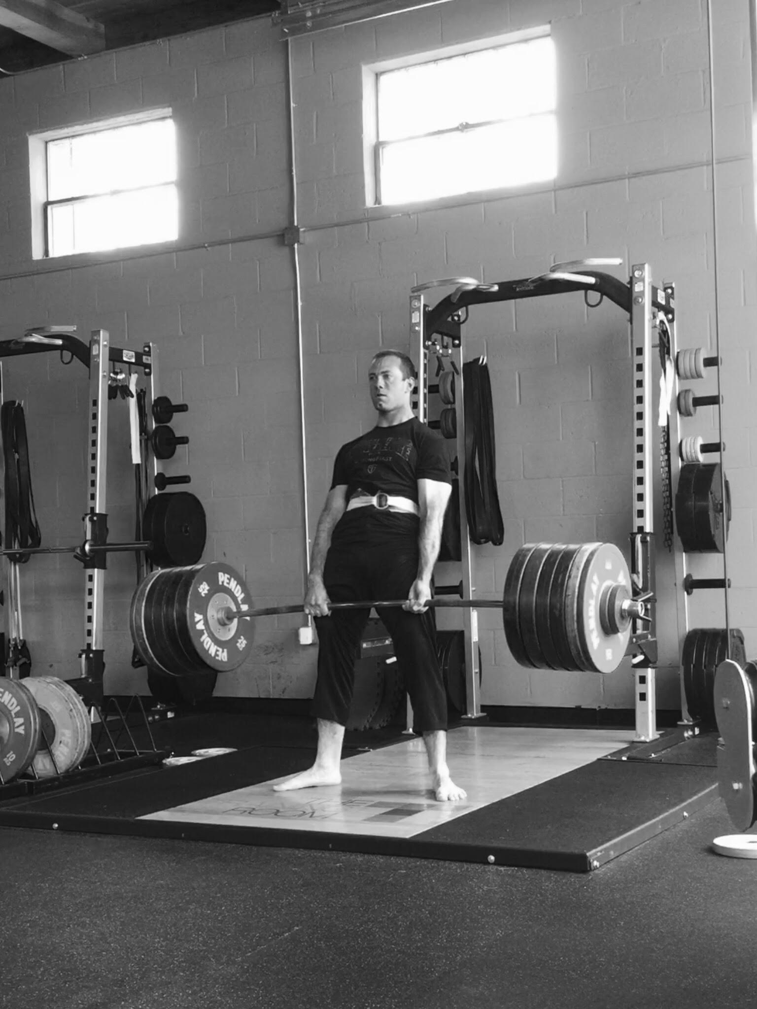 My 571 lb deadlift: a picture that took 5+ years and hundreds of hours of practice.
