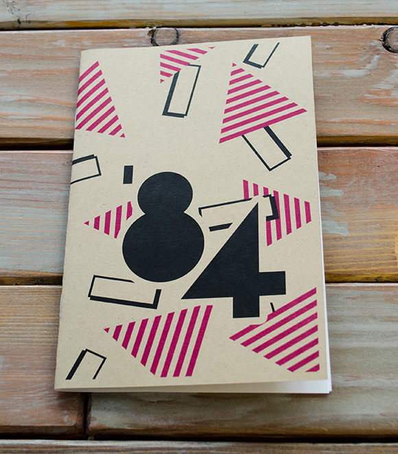 '84 - Entertainment Ephemera A zine produced for Light Grey Art Lab's Stacks show in 2014.