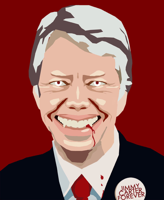 Jimmy Carter is a Vampire by Barak Hardley