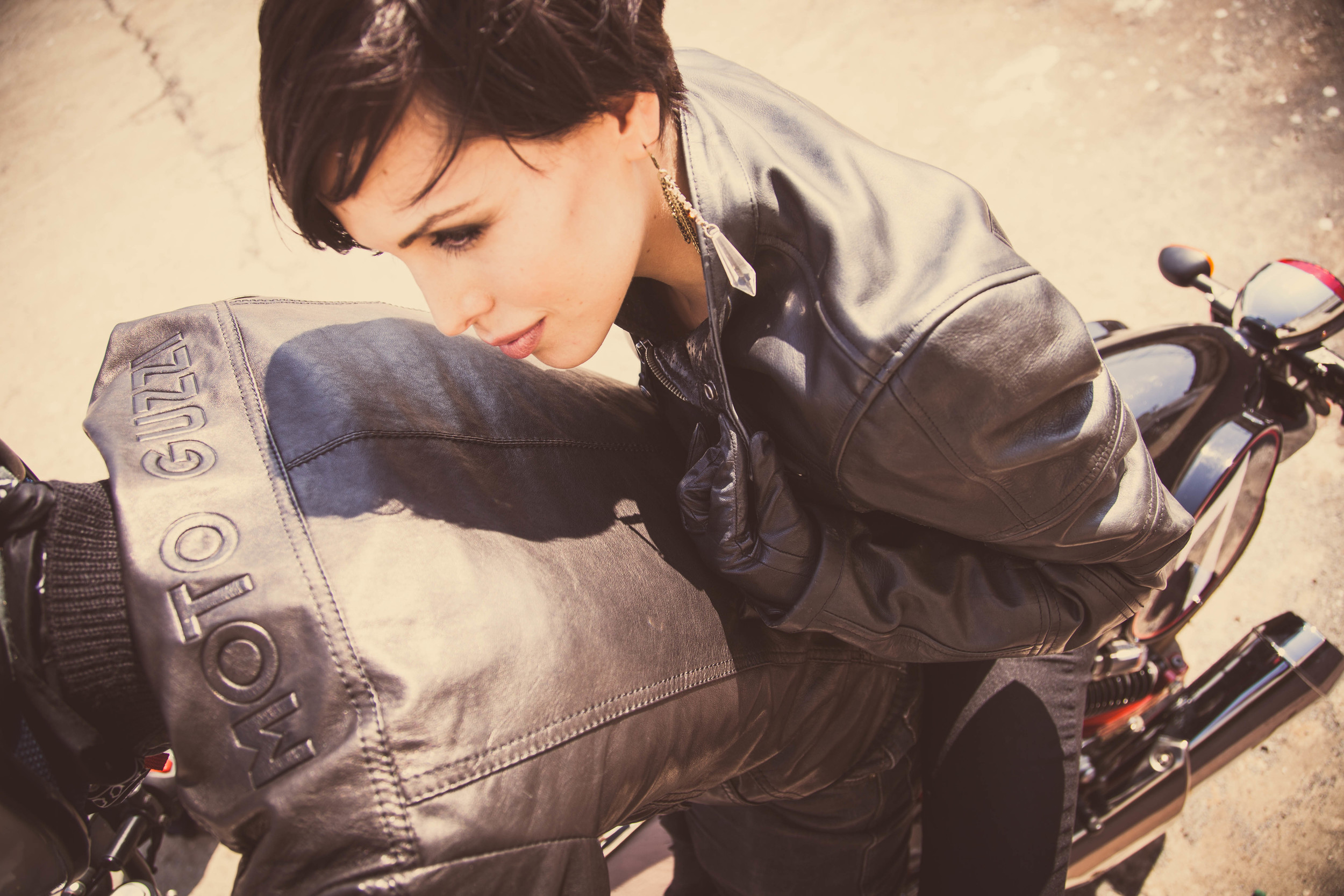 MotoGuzzi Apparel & Motorcycle Shoot