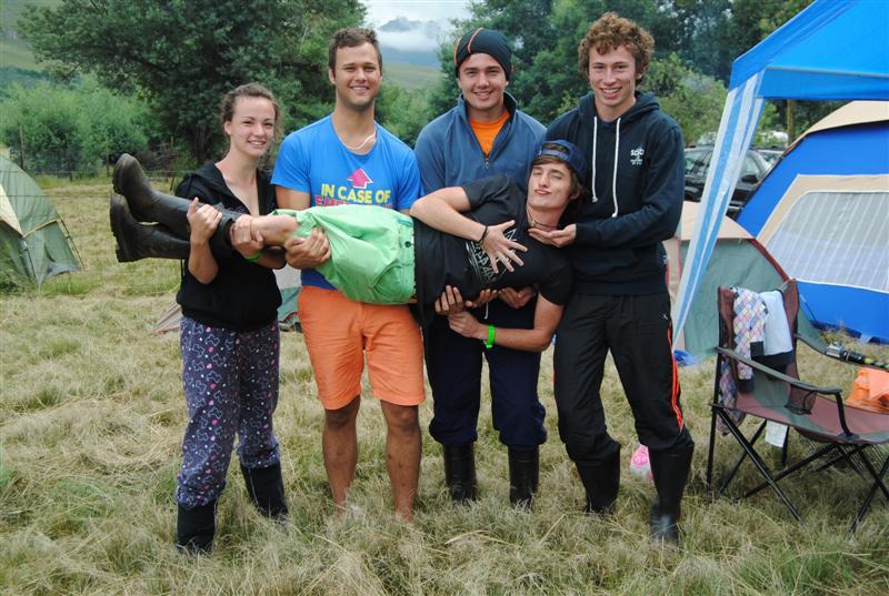 Lizz Snyman, Gareth Van den Berg, Cameron Blair, Gabriel Attwood, Adriaan Rossouee. PHOTO: Erin and Caitlin Fuller.