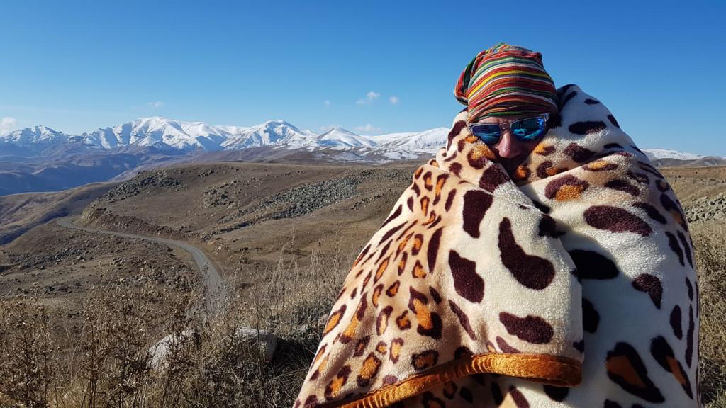 Expedition leader Ross Holgate feeling the cold in Armenia.jpg