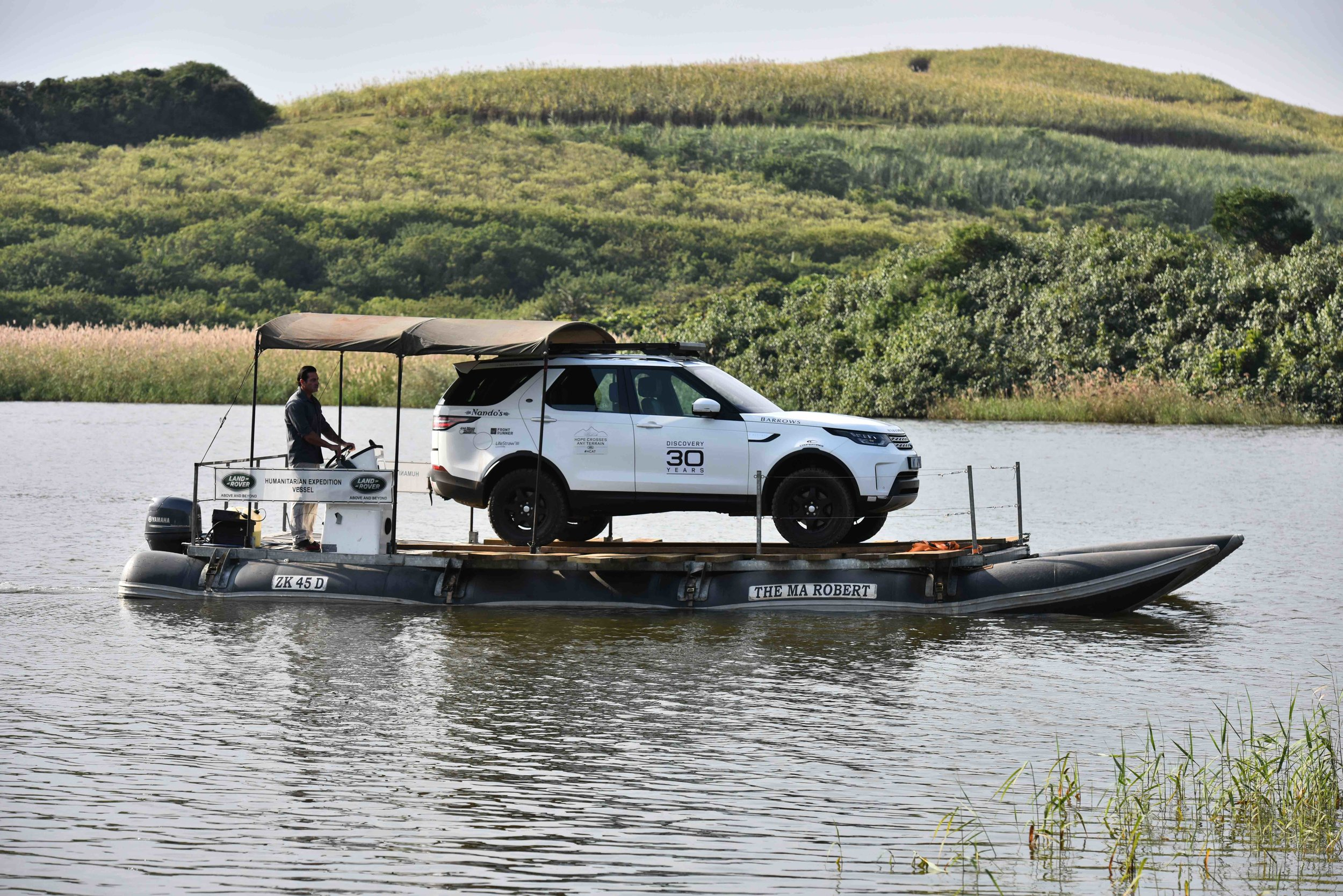 Land Rover New Discovery on the Ma Robert doing recent trials.jpg