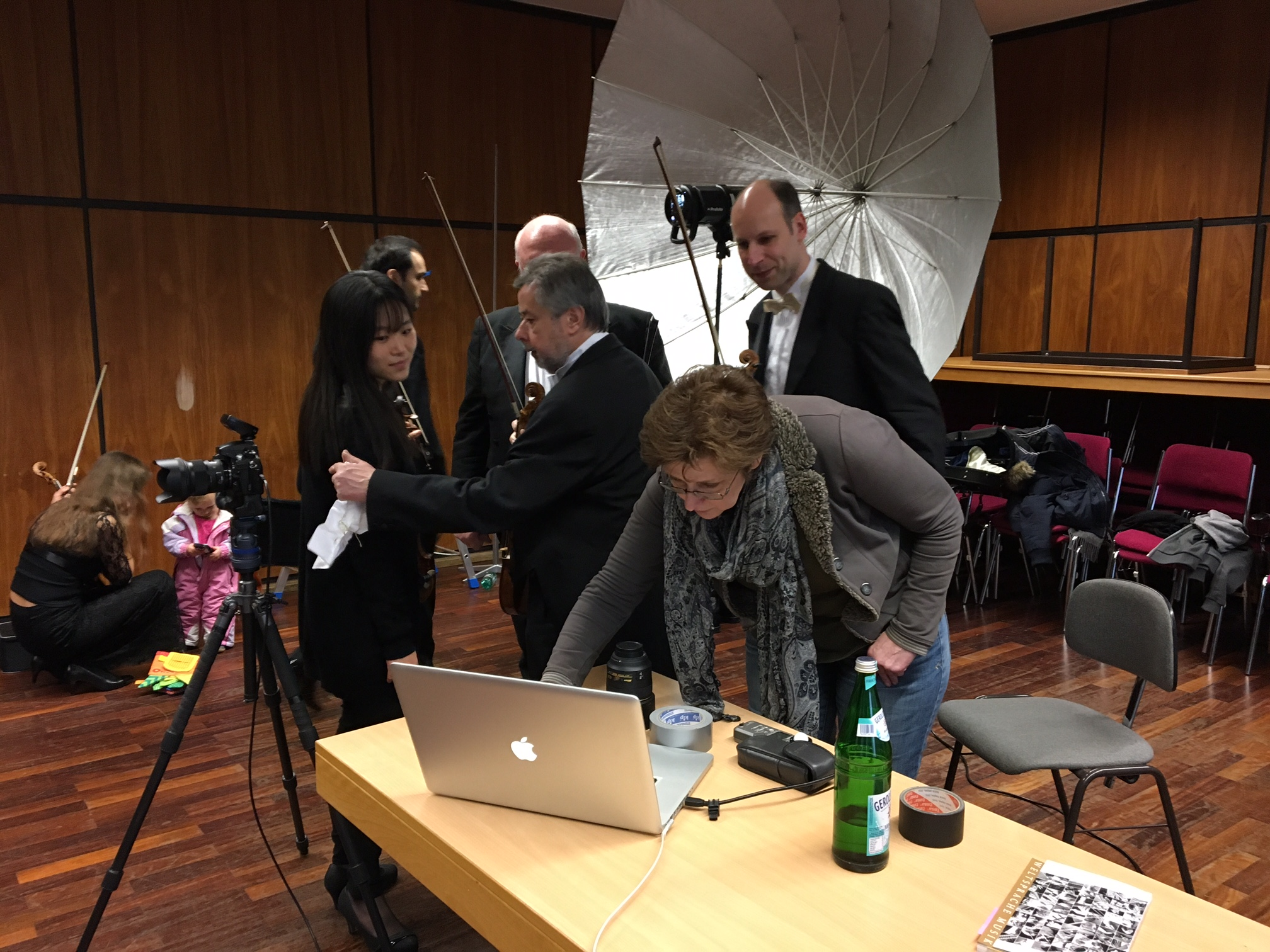 Photoshooting mit Symphonieorchester