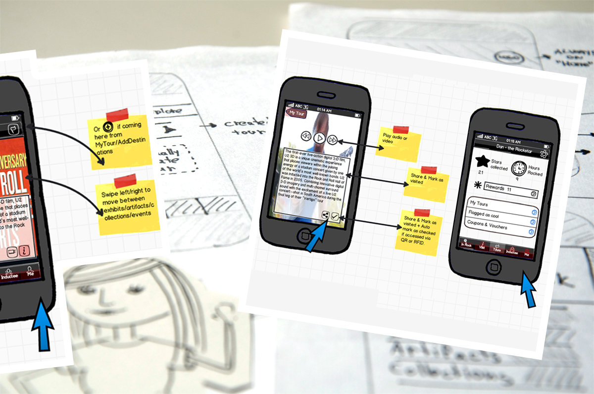 Defining behaviour and prototyping like crazy. Both on paper and digital. More than 70 mockups were made before moving to hi-fi UI design.
