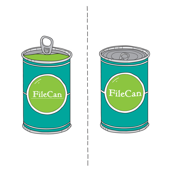 Opening the can