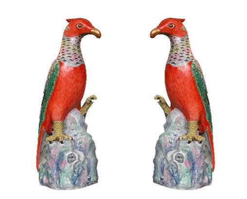 MC03- Famille Rose Parrots