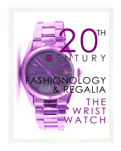 Limited edition poster Wrist Watch