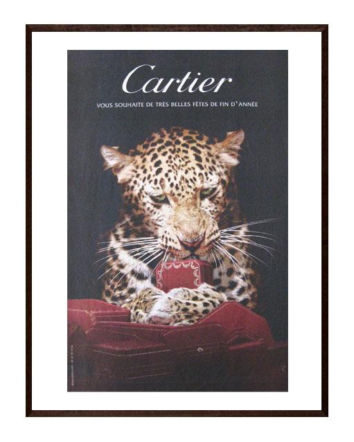 'Cartier  fin d'année ' original newspaper ad